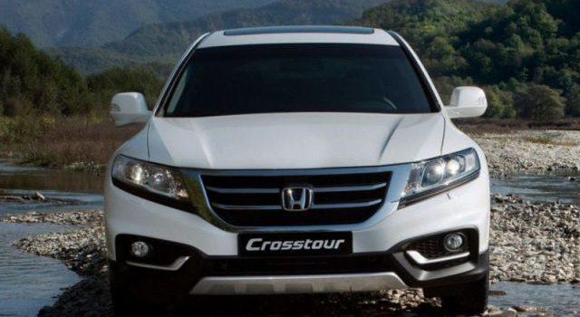 2018 Honda Crosstour front