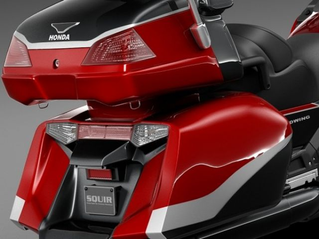 2018 Honda Goldwing rear