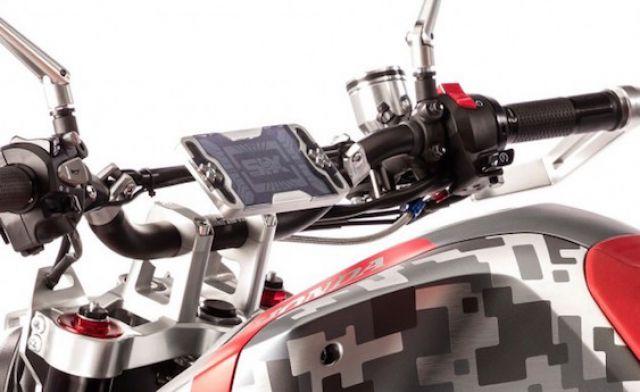 Honda CBsix50 dashboard