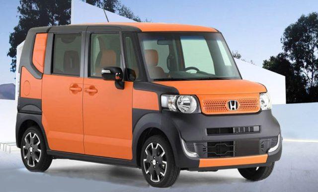 2019 Honda Element front