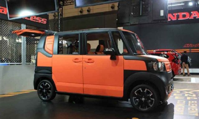 2019 Honda Element side