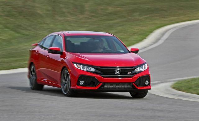 2019 Honda Civic-Si Sedan front