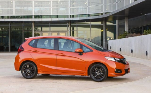 2019 Honda Fit Turbo side
