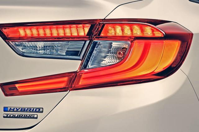 2020 Honda Accord Hybrid rear