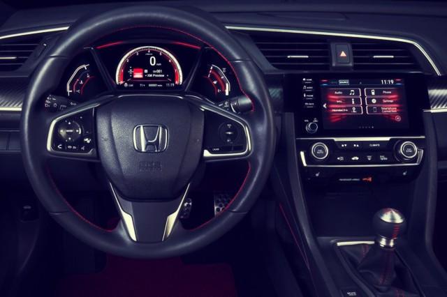 2019 Honda Civic SI Coupe interior