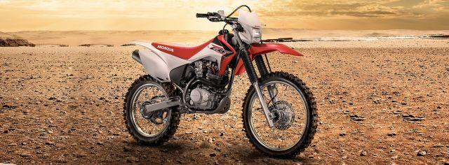 2019 Honda CRF230F side