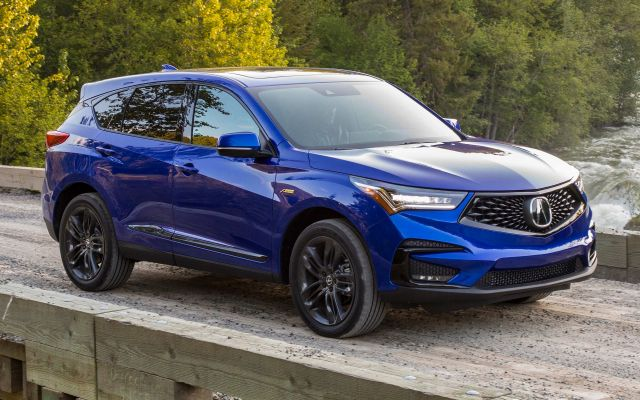 2020 Acura MDX side