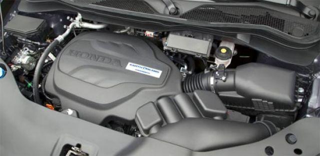 2020 Honda Ridgeline engine