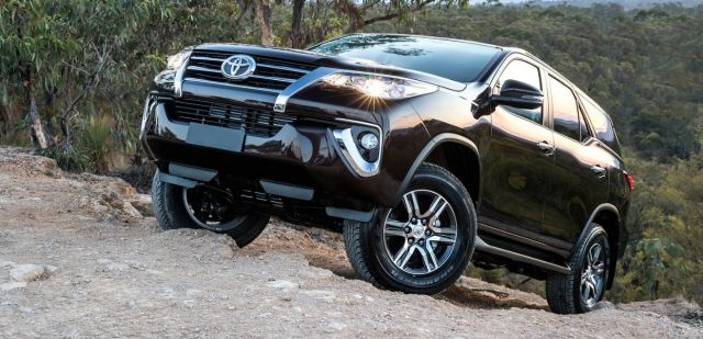 2020 Toyota Fortuner front