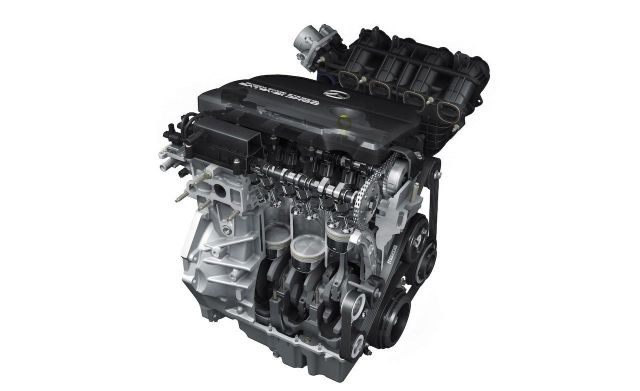 2020 Mazda CX-7 engine