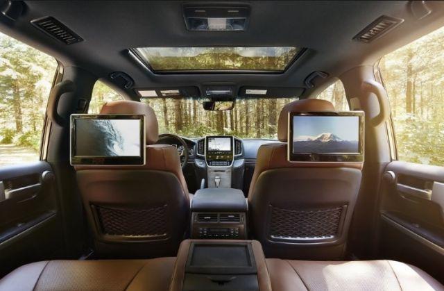 2020 Toyota Land Cruiser 300 interior