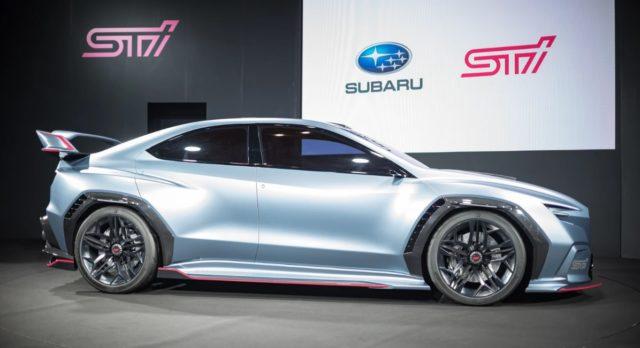 2020 Subaru WRX STI side