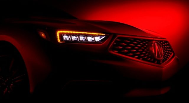 2020 Acura TLX A-Spec grille