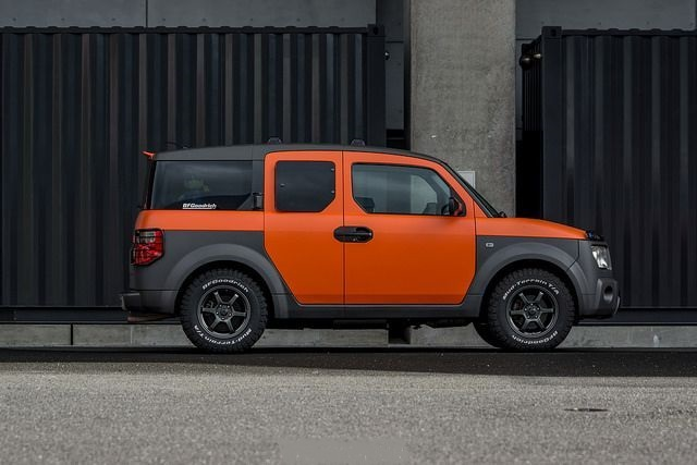 2021 Honda Element side