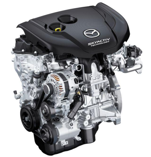 2021 Mazda CX-5 powertrain