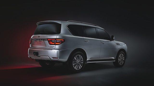 2021 Nissan Patrol rear