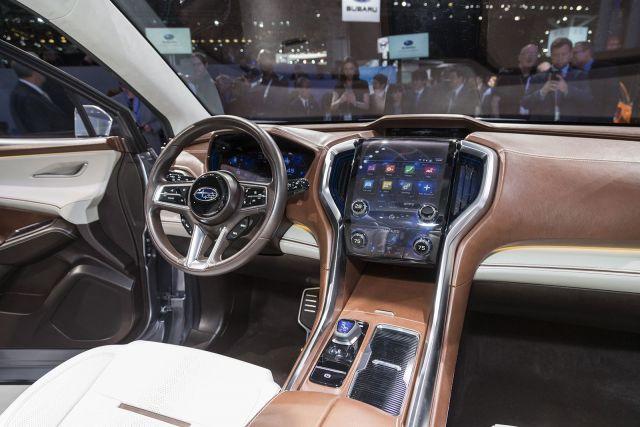 2021 Subaru Ascent cabin