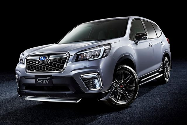 2021 subaru forester redesign sti hybrid  japan cars
