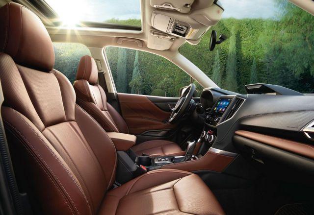 2021 Subaru Forester interior