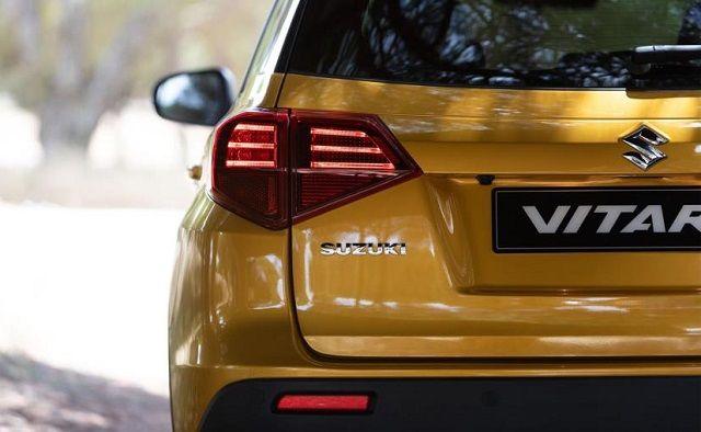 2021 Suzuki Grand Vitara rear