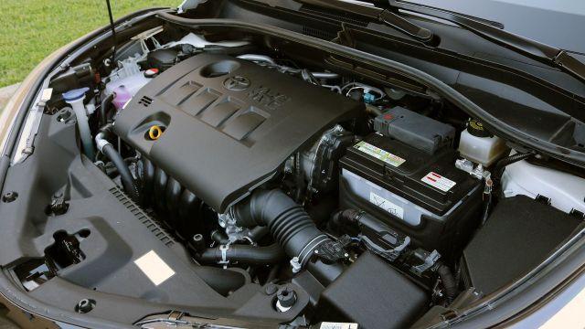 2021 Toyota C-HR engine