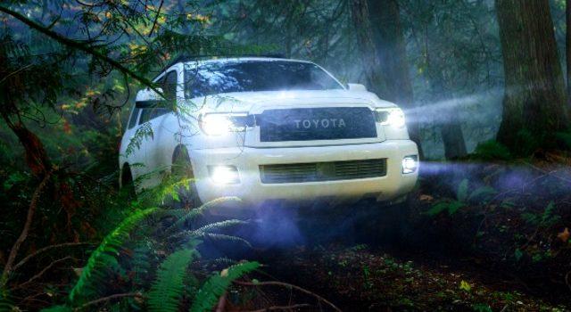 2021 Toyota Sequoia exterior