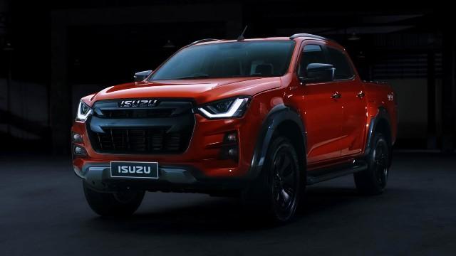 2021 Isuzu D-Max facelift