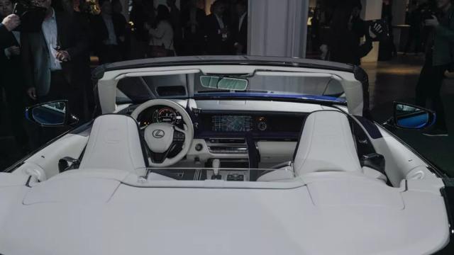 2021 Lexus LC 500 interior