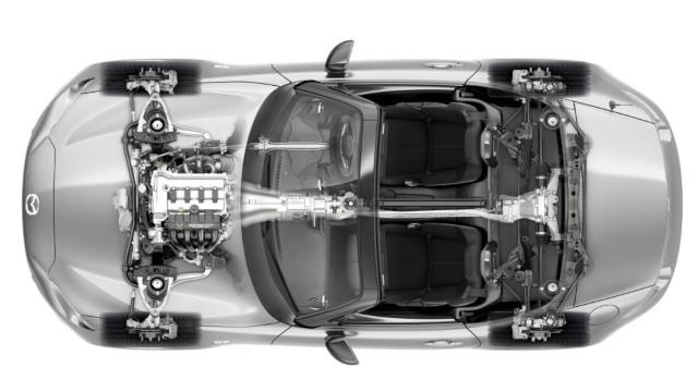 2021 Mazda Miata engine