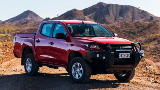 2021 mitsubishi triton comes closer to the l200 model