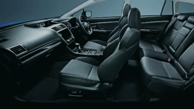 2021 Subaru Levorg V-Sport interior