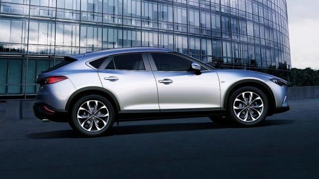 2021 Mazda CX-7 rendering
