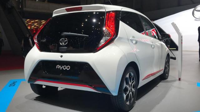 2021 Toyota Aygo rear