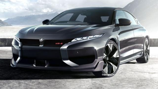 2022 Mitsubishi Galant VR4 redesign