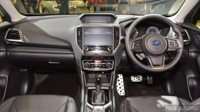 2021 Subaru Forester Hybrid interior