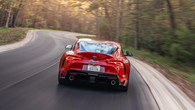 2021 Toyota Supra rear