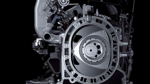 2022 Mazda RX-7 engine