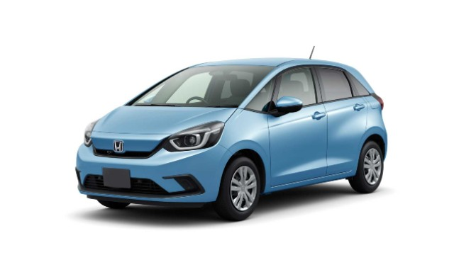 2021 Honda Jazz facelift