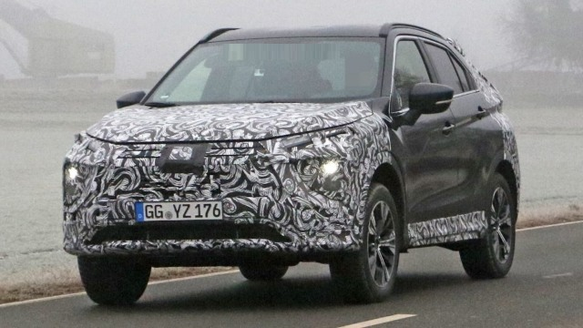 2021 Mitsubishi Eclipse Cross Spied and Facelifted - Japan ...