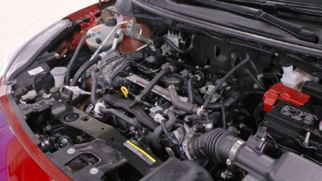 2021 Nissan Versa engine