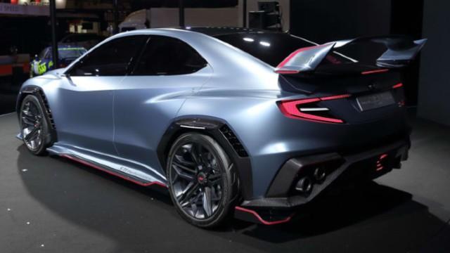 2021 Subaru WRX STI facelift