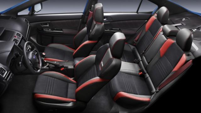 2021 Subaru WRX STI interior