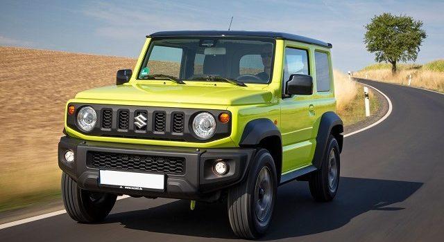 2021 Suzuki Jimny facelift