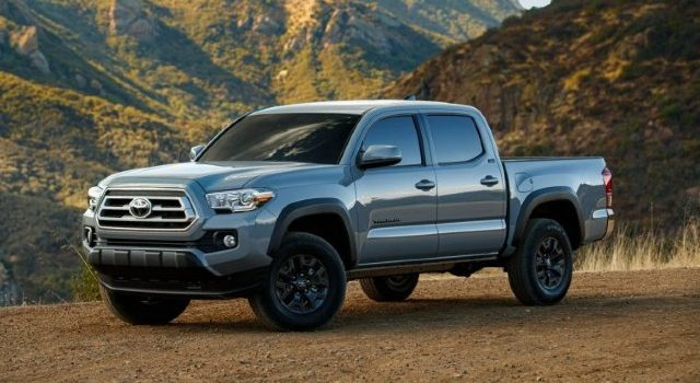 2021 Toyota Tacoma Trail Edition facelift