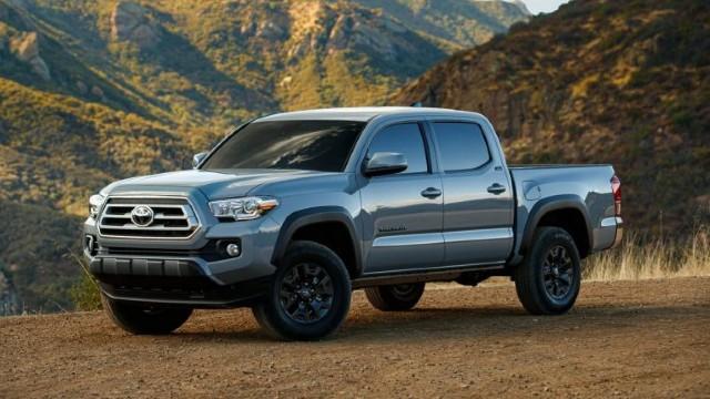 2021 Toyota Tacoma Trail Edition facelift
