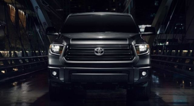 2021 Toyota Tundra Nightshade grille